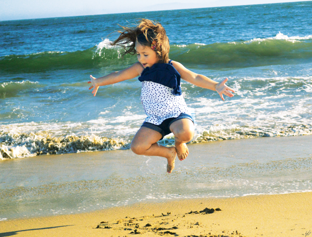 Ella Takes Flight in Seal Beach