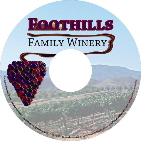 Foothills Winery CD