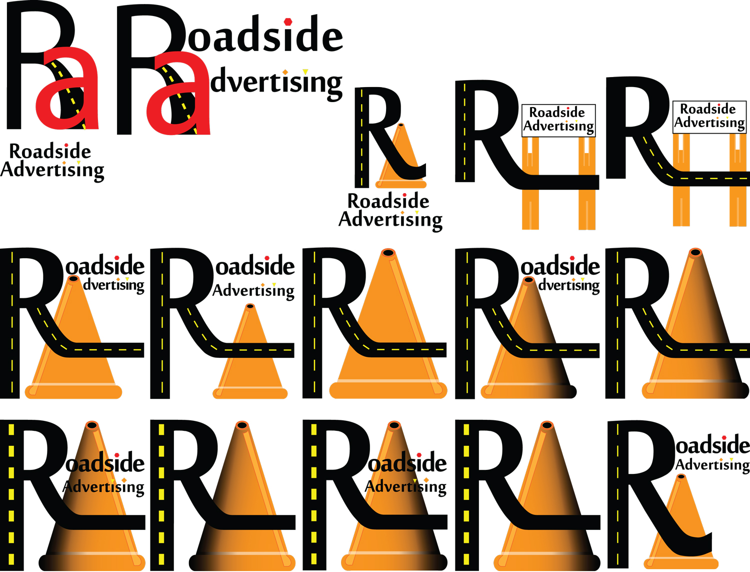Roadside Advertising Logo Options
