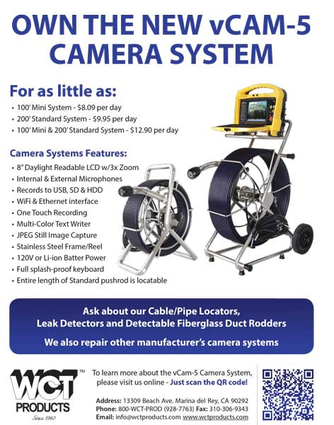 WCT Products vCam-5 flyer